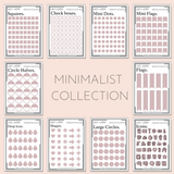 MINIMALIST MINI SHEETS - BLUSH