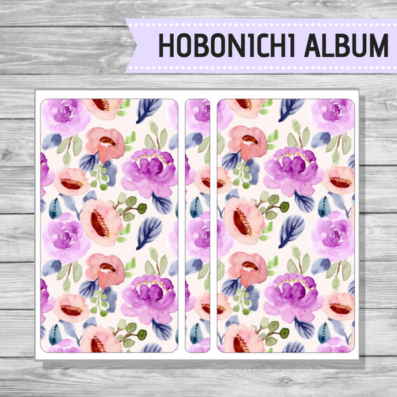 Hobonichi Sticker Album - In Bloom
