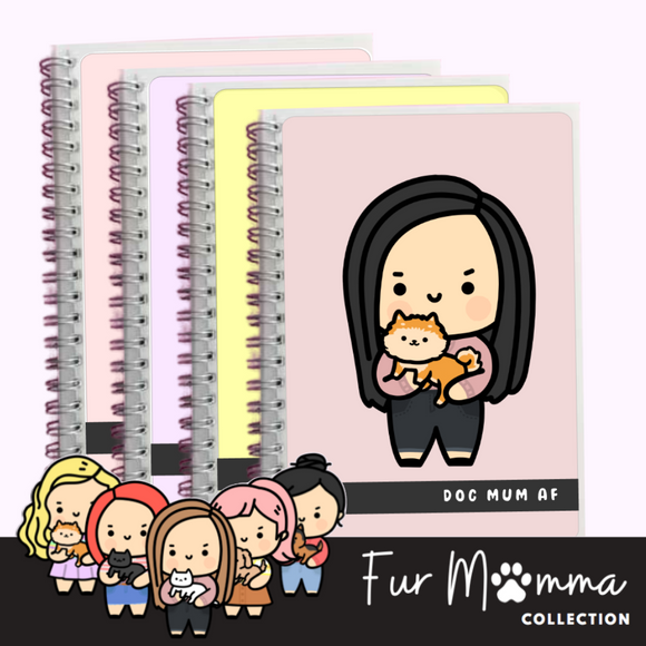 REUSABLE STICKER BOOK: Fur Mumma Collection