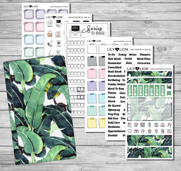 Hobonichi Starter Bundle - Leaves