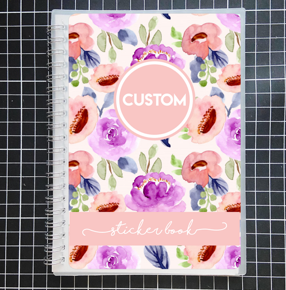 Reusable STICKER BOOK: IN BLOOM