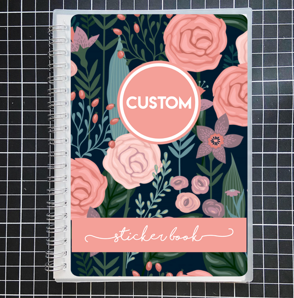 Reusable STICKER BOOK: BLOSSOM