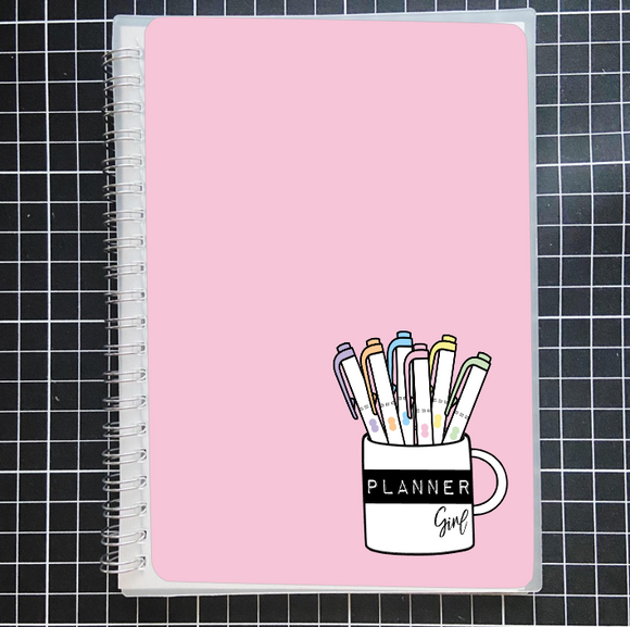 Reusable STICKER BOOK: PLANNER CUP