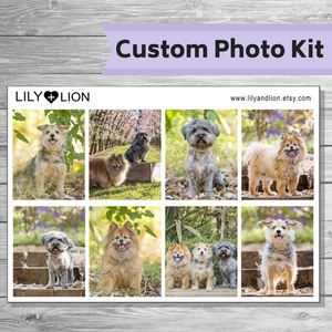 CUSTOM Weekly Photo Kit