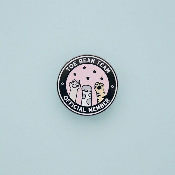 Toe Bean Team - Official Member Enamel Pin