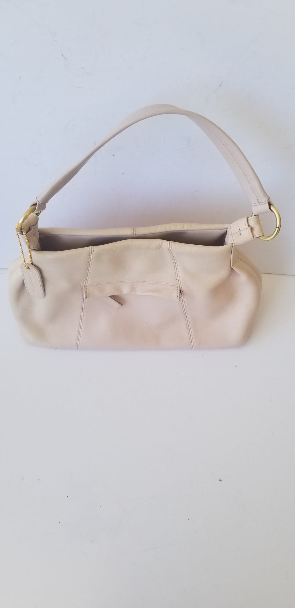 Liz Claiborne women's handbag blush pink genuine leather medium