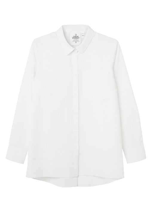 Behave Organic Poplin Shirt in White