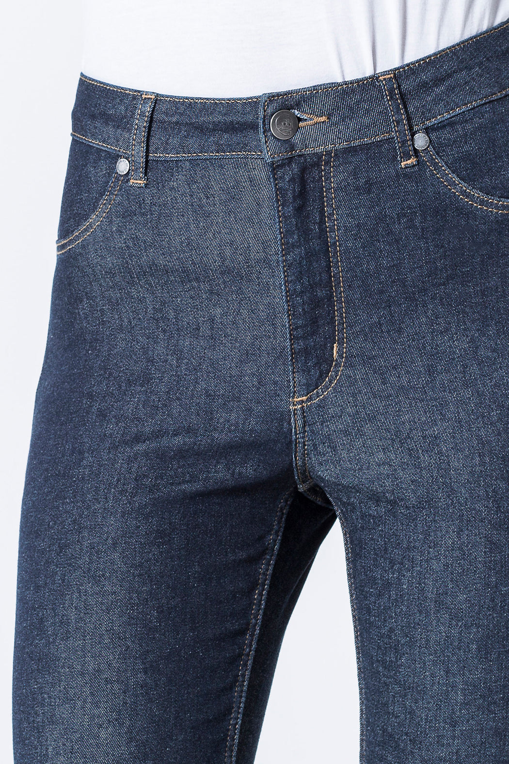Organic HIgh Spray Jeans in Indigo Rinse