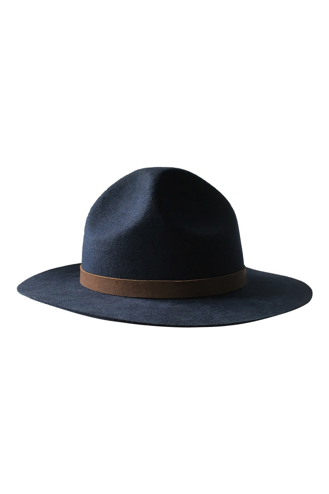 Mounty Traditional Wool Hat in Navy