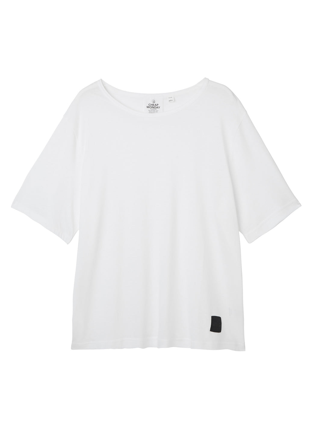 Spacious Tee in White