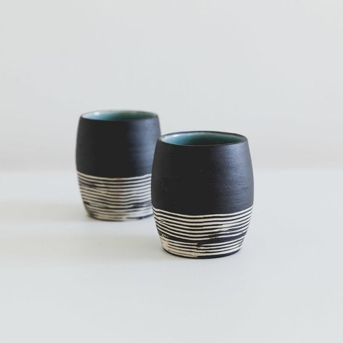 Skandi Striped Cup Planter