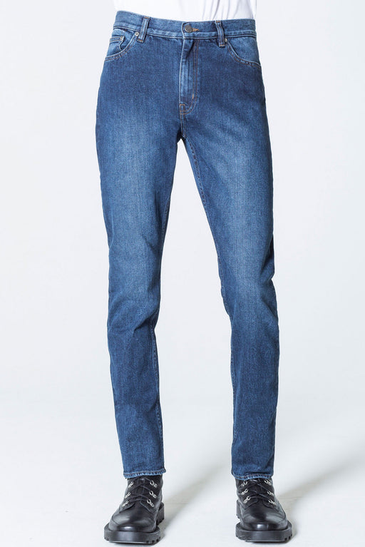 Audiac Sure Blue Regular Fit Jeans