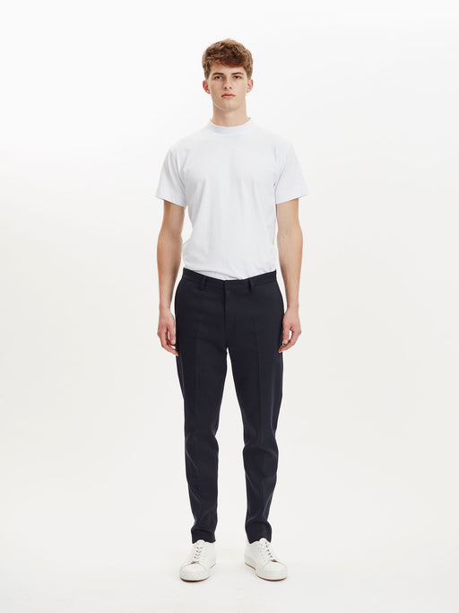 Transworld Trousers in Woven Navy