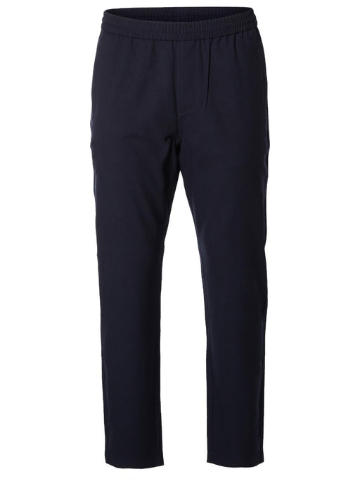 Key Navy Solid Navy Pants