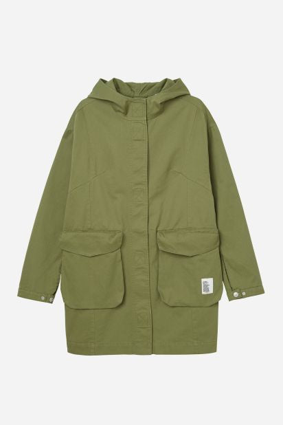Worker Utility Parka in Olive