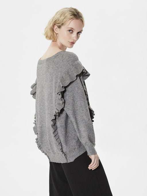 Frilla Long Sleeve Knitted Jumper