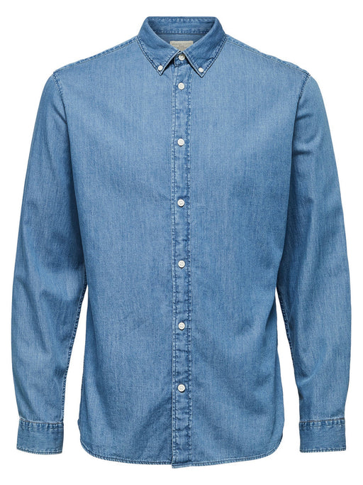 Nolan Slim Fit Denim Shirt