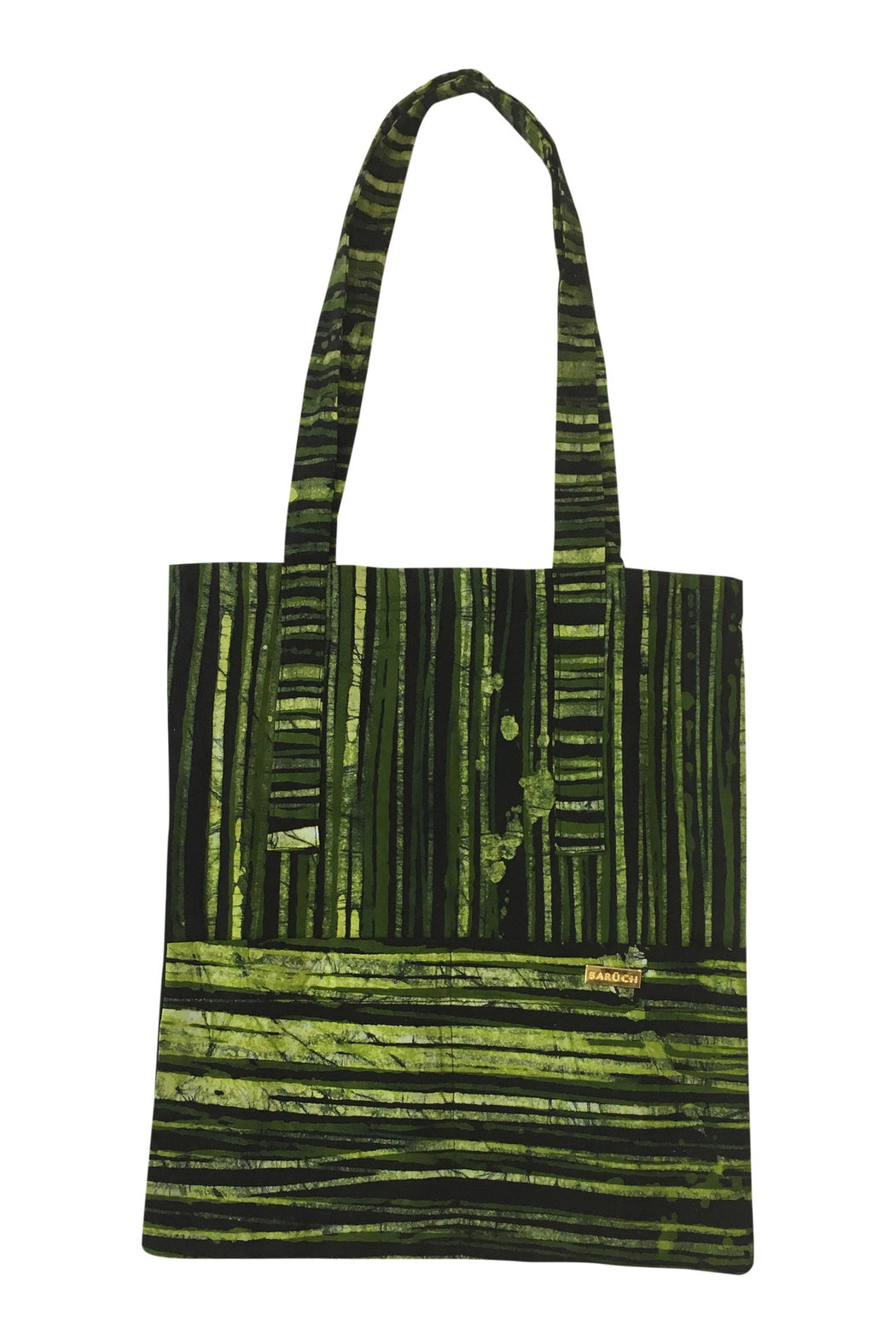 Wax Print Tote Bag