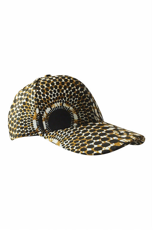 Frederick Pure Wool Baseball Cap in Wishing Well Print