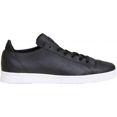 Magne Full Grain Leather Sneakers in Black