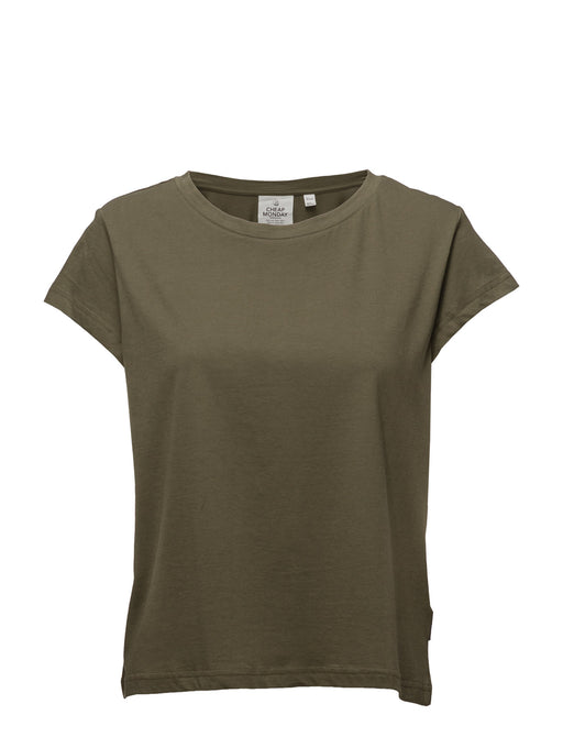 Have Organic Tshirt in Mud Green