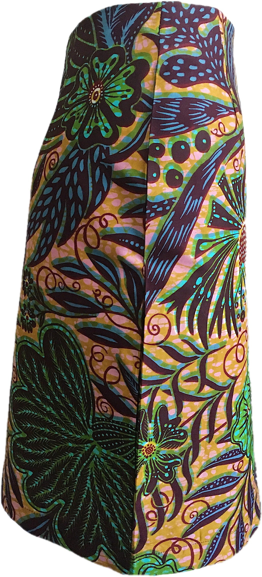 Botanical Wrap Skirt