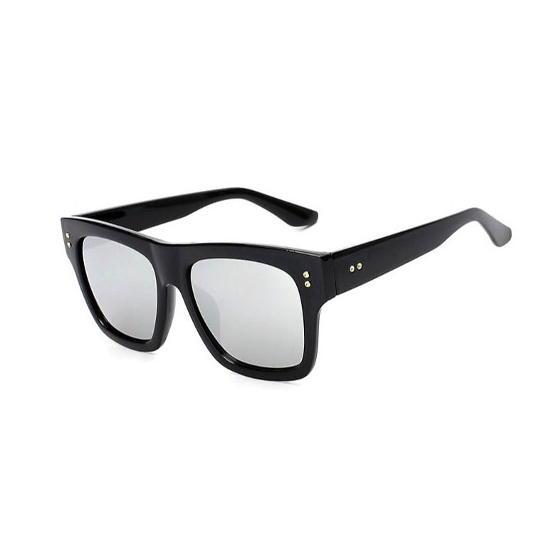 Toby Rectangle Onyx Sunglasses