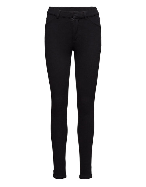Knit Black High Spray Trousers