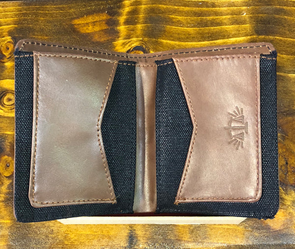 Leather Wallet: Fortune favours the brave