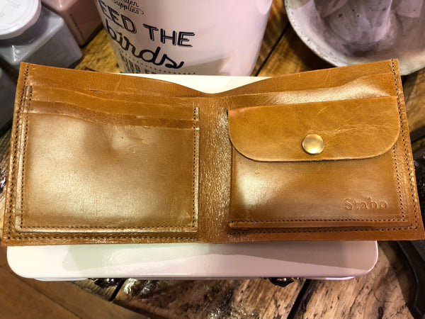 Leather Wallet Cycling