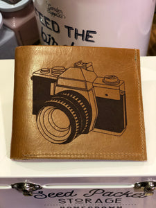 Leather Wallet Camera