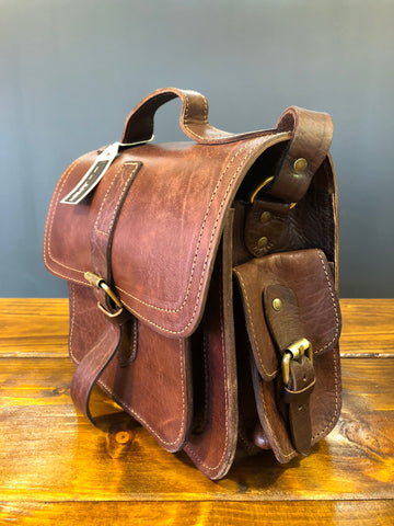 Artisan Chocolate Brown Leather bag