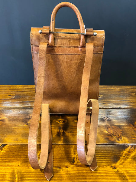 Artisan Tan Backpack
