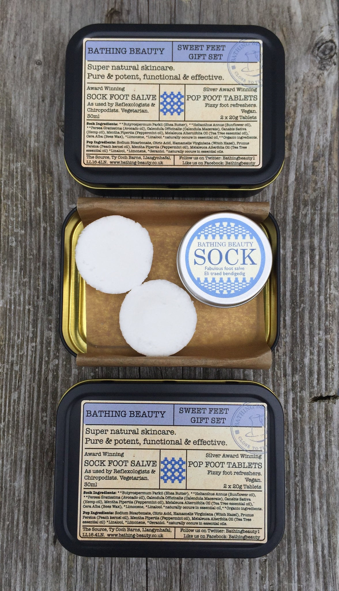Footcare set - Foot bath and foot salve