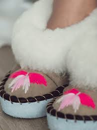 Ladies Slippers Pink