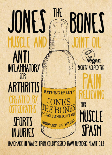 Jones the bones joint and muscle oil