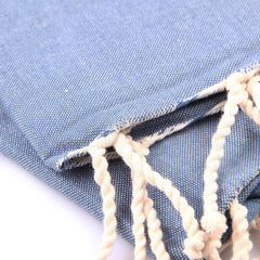 Fouta traditionnelle Bleu jean