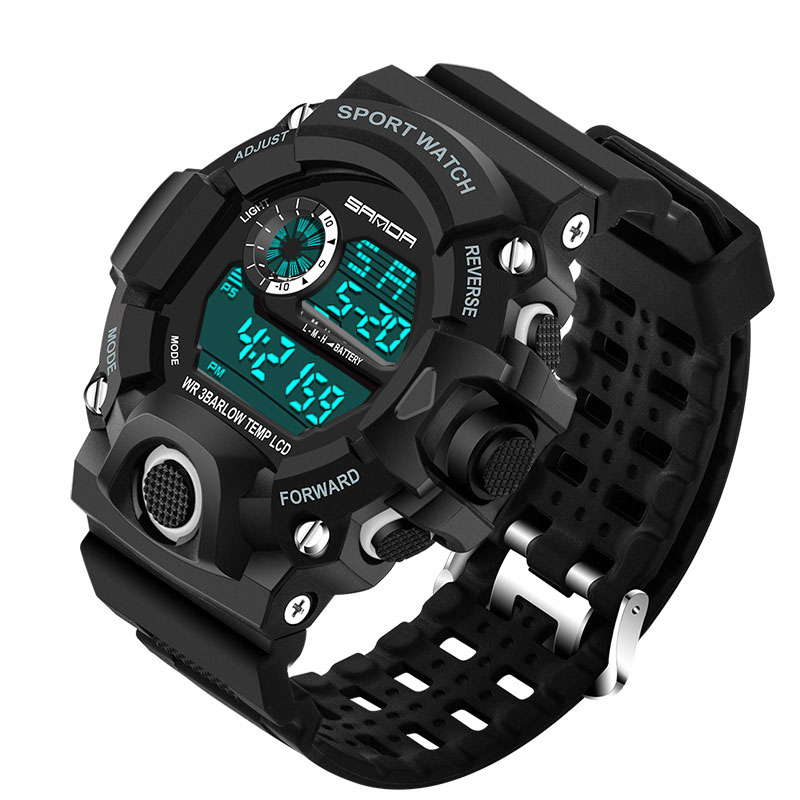 LED Digital Military Sport Watch Waterproof