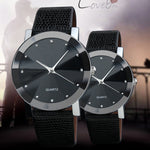 Casual Classic Couple Watch Leather Bracelet
