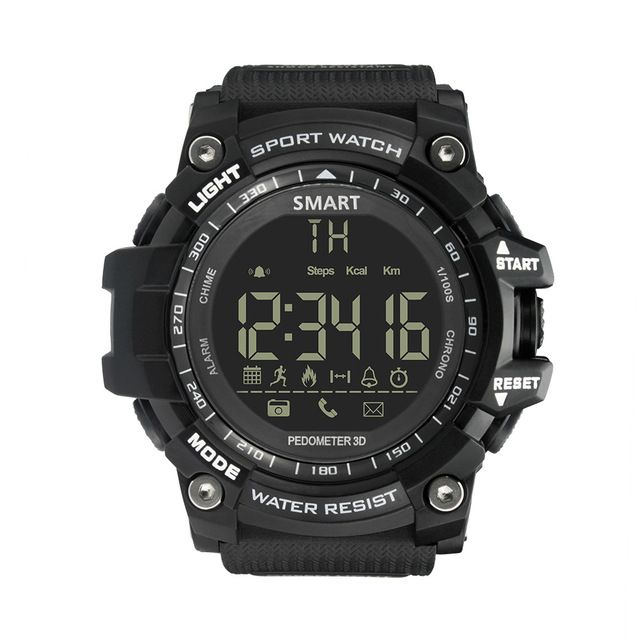 Men Smart Watch Waterproof Bluetooth For iOS / Android Phone