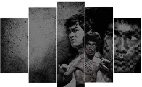 Tableau Déco Bruce lee la collection cinema sur deco-promo.com