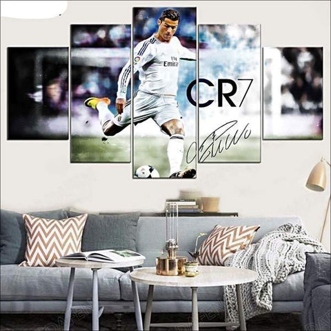 Decorazione da tavola CR7 christiano ronaldo Football real madrid deco-promo.com