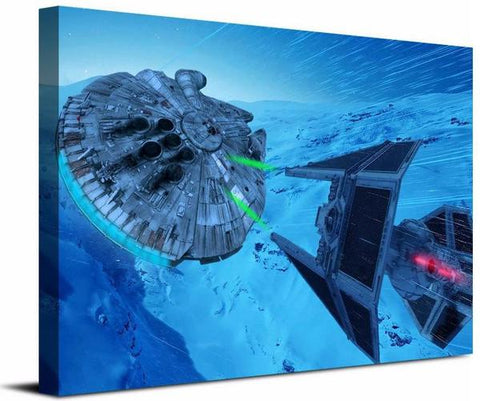 Table Star Wars Millenium Falcon deco-promo.com