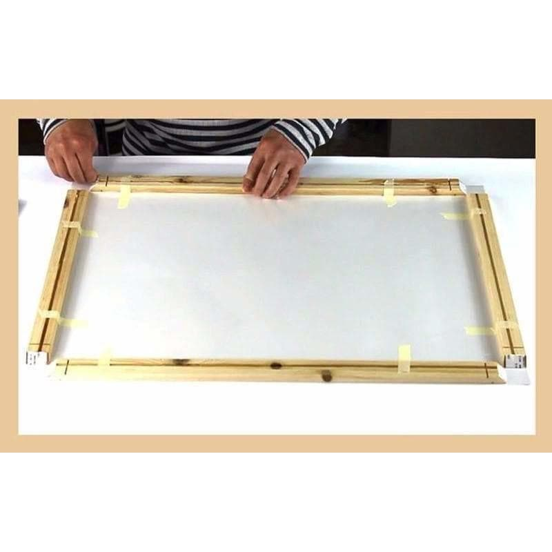 Natural wood frame Dimensions from 140cm Samaritan Natural wood frame