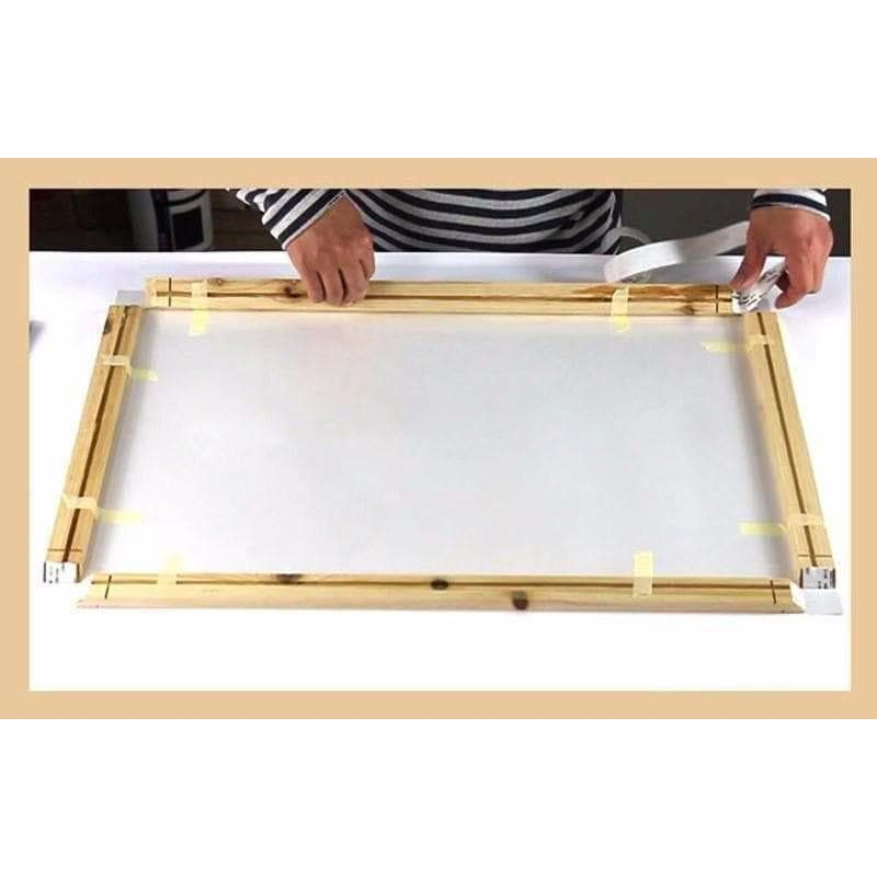 Natural wood frame Dimensions from 90cm samaritan Wooden frame