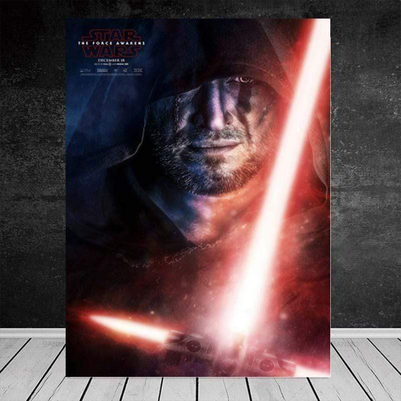 Poster Star Wars Episode 7 The Force Awakens - ruedestableaux.com