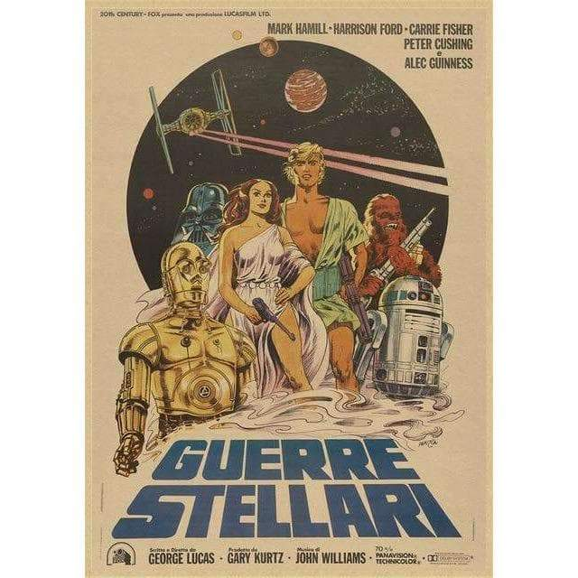 Poster Star Wars Vintage Collection - ruedestableaux.com