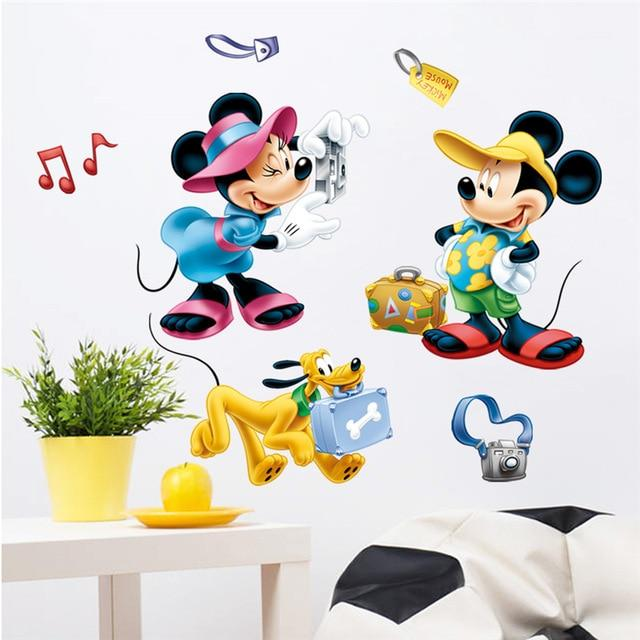 Stickers Chambre d'enfant Mickey Minnie Collection 20 Pièces - RUEDESTABLEAUX.COM