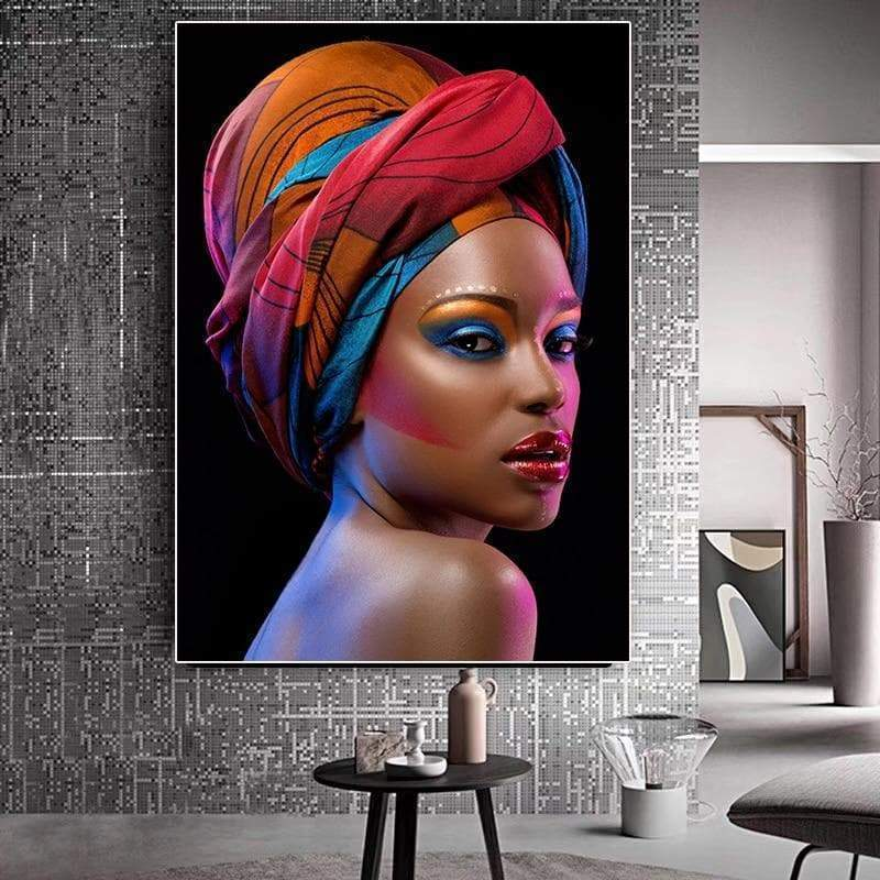 Tableau Africaine Sexy Woman - ruedestableaux.com