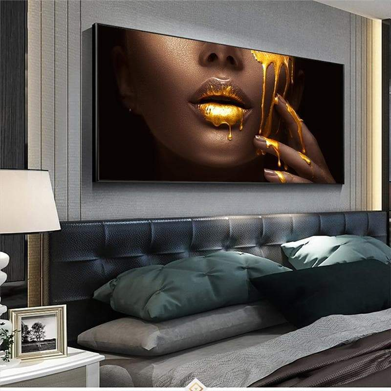 Africa Painting Women Gold Cry Samaritan Painting Africa